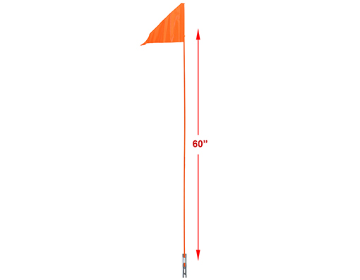 Safety Flags 1pc 60