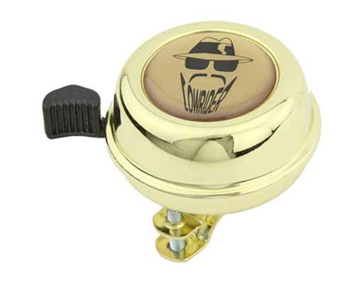 Lowrider  bike Bell   Gold