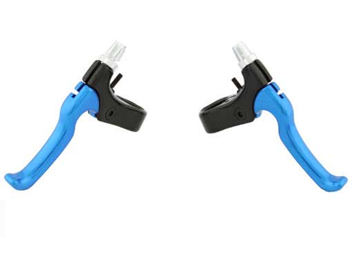 408 Alloy Brake Lever Set Black/Blue.