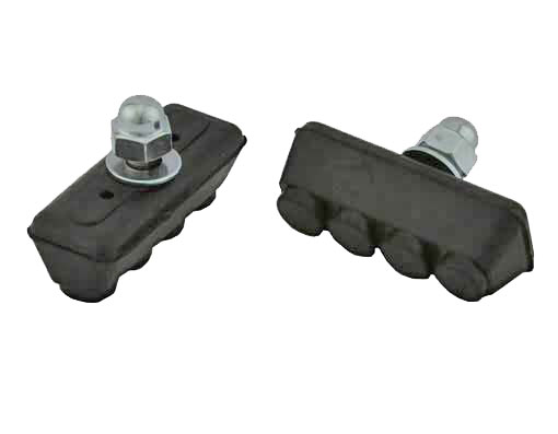 4 Point Brake Shoes Black.