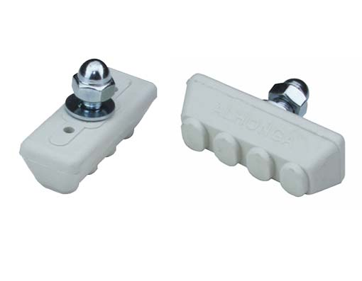 4 Point Brake Shoes White.
