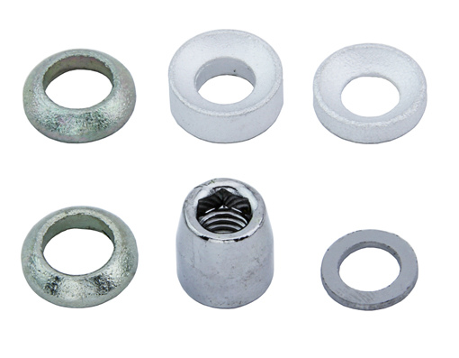 Brake Shoes Nut & Accessories Chrome