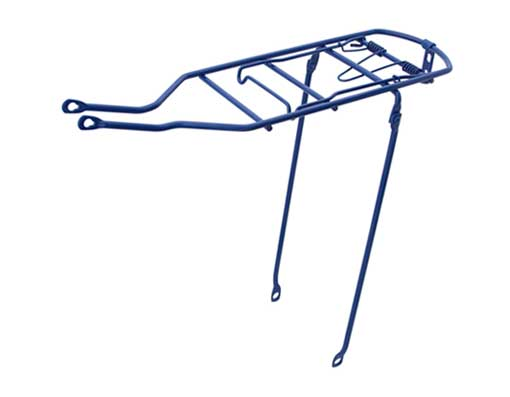 Bicycle Steel Carrier Blue.