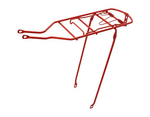 Bicycle Steel Carrier Red.