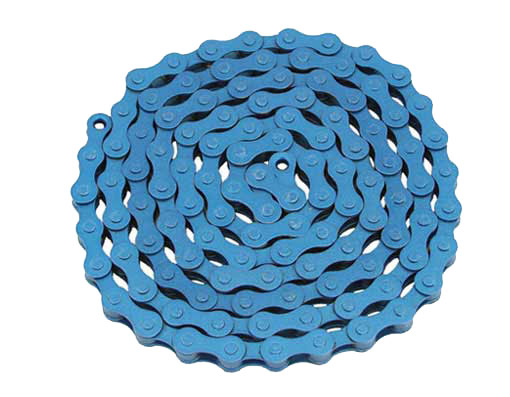 YBN bicycle Chain 1/2x1/8x112 Blue.