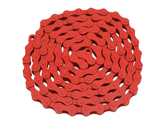 YBN bicycle Chain 1/2x1/8x112 Red.