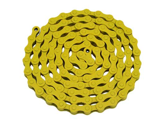 YBN bicycle Chain 1/2x1/8x112 Yellow.