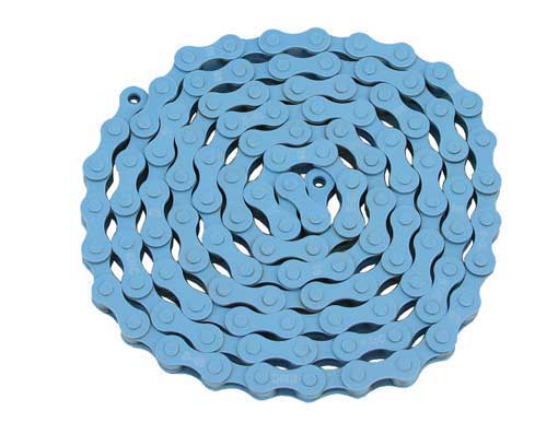 KMC bicycle Chain 1/2x1/8x112 Blue.