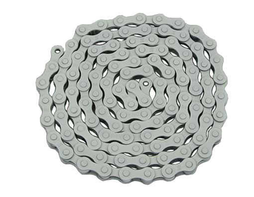KMC bicycle Chain 1/2x1/8x112 White.