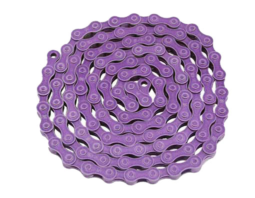 KMC bicycle Chain 1/2x1/8x112 Purple.