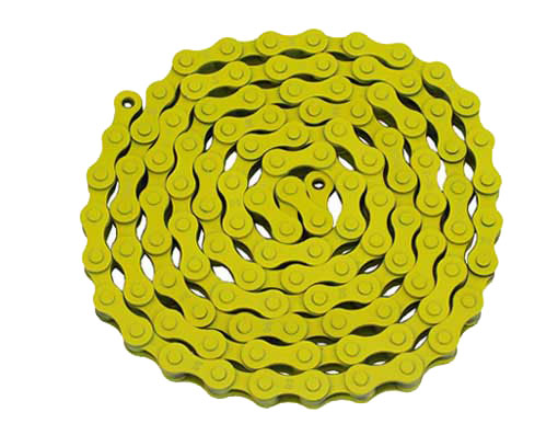 KMC bicycle Chain 1/2x1/8x112 Yellow.