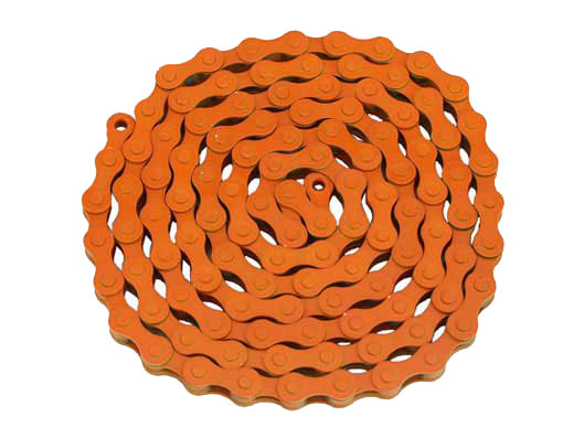 KMC bicycle Chain 1/2x1/8x112 Orange.