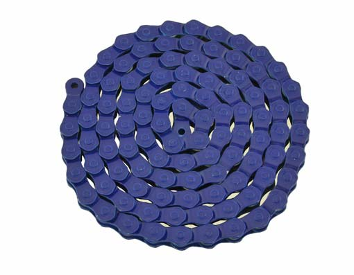 KMC Chain 1/2x1/8x102-1/2 Link 1/Speed blue