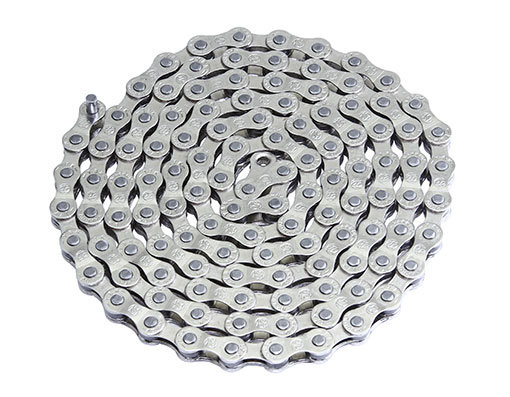 Bike YBN Chain 1/2x3/32/116 S50 5,6,7/Speed Chrome. 123611