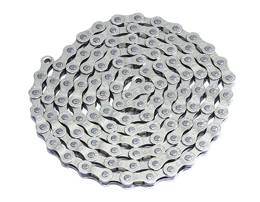 Bike YBN Chain 1/2 x3/32 116 S8 S2 8/Speed Chrome. 123620