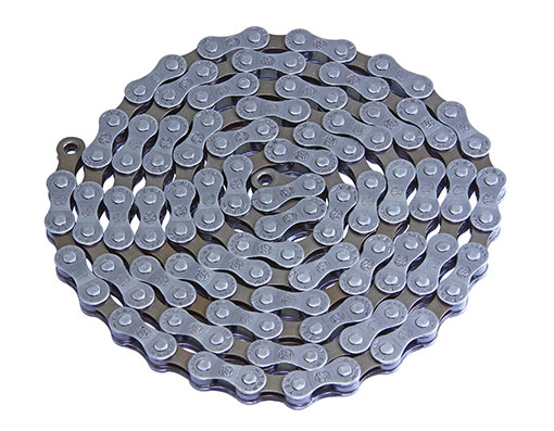 Bike YBN Chain 1/2 x3/32 116 S8 8/Speed Grey/Brown. 123624