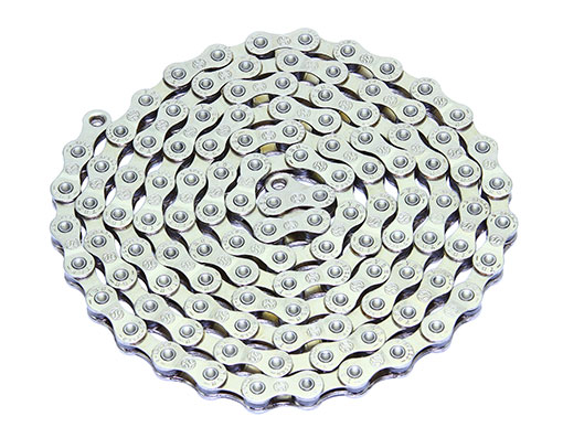 Bike YBN Chain 1/2 x X 11/128 S9 S2 9/Speed Chrome. 123632