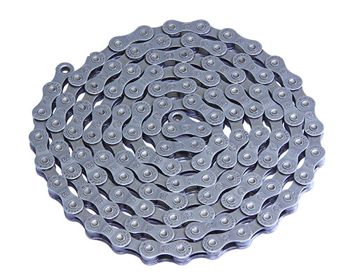 Bike YBN Chain 1/2 x X 11/128 S9 9/Speed Chrome/Gray. 123637