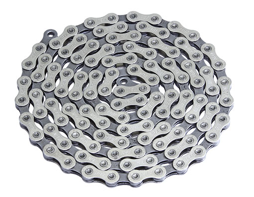 Bike YBN Chain 1/2 x X 11/128 S11S 11/Speed Chrome/Gray. 123650