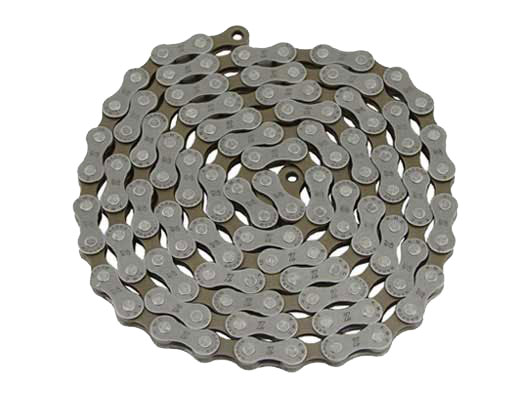 KMC  Chain 1/2 x3/32 116 Z50 7/Speed Black.