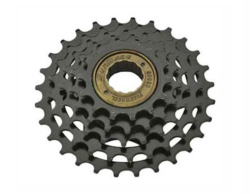 5 Speed  Multiple Freewheels Friction Black Sun