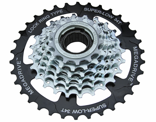 7 Speed Multiple Freewheels Friction MFM-4S Black/Zinc Sun Race