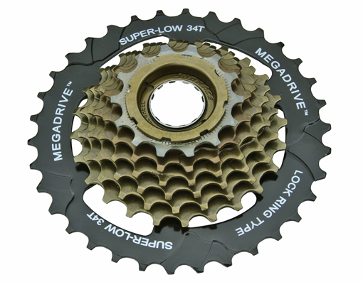 7 Speed Multiple Freewheels 14/34t Friction MFM-2A Black/Brown S