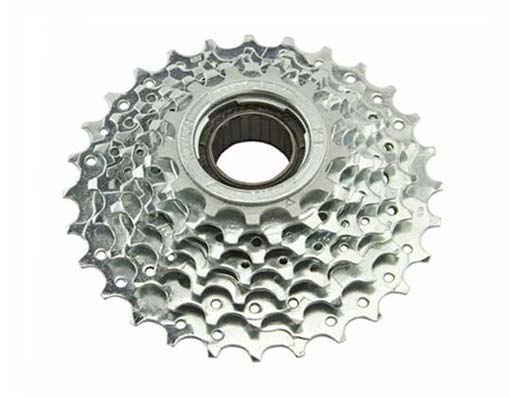 7 Speed Multiple Freewheels Chrome Sun Race.