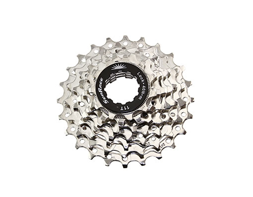 Bike 7 Speed Cassette 12/24t Index CSR-63 Nickel Sun Race. 125600