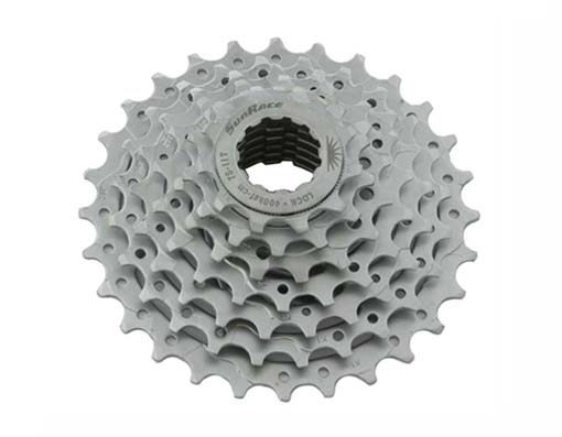 7 Speed bicycle Cassette Index Sun Race.