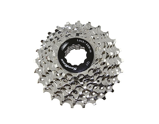 Bike 8 Speed Cassette 12/25t Index CSR-86 Nickel Sun Race. 125620