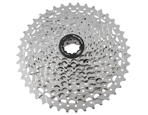 Bike 11 Speed Cassette 11/42t Index CSMS8 Silver Sun Race. 125831