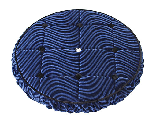 Lowrider bicycle Spare Tire Cover Blue.
