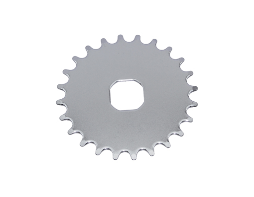 Chainring Steel 777-O 24t 1/2 X 1/8Chrome