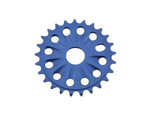 Chainring Alloy bike 6061-T6 25t 1/2 X 1/8 Blue.