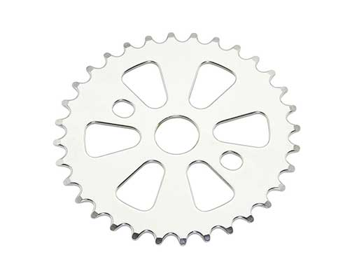bike Lowrider Steel Chainring SS-166 1/2 X 1/8 32t Chrome