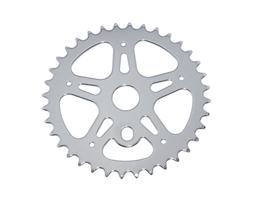 Bike Lowrider Steel Sprocket CW-316 1/2 X 1/8 36t Chrome. 137068