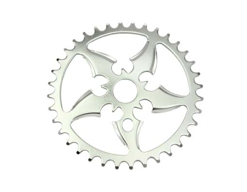 Bike Lowrider Sprocket Sword 36t 1/2 X 1/8 Chrome. 137137