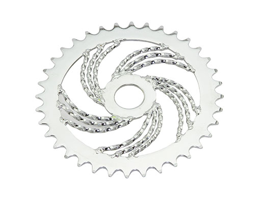 Triple Twisted bike Chainring 36t