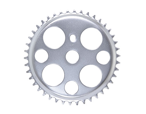 Bike Steel Lucky 7 Steel Sprocket 1/2 X 1/8 42t Chrome. 137400
