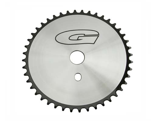 Sprocket G 44t 1/2 X 1/8 Chrome/Black.