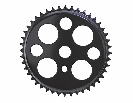 Bike Lucky 7 Steel Sprocket 1/2 X 1/8 44t Black. 137800