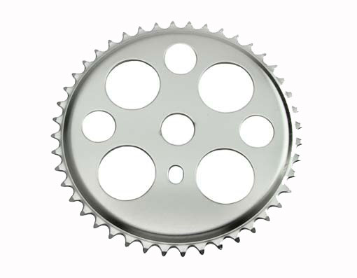 Lucky 7 Sprocket 44t 1/2 X 3/32 Chrome.