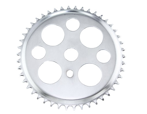 Bike Lucky 7 Steel Sprocket 1/2 X 1/8 46t Chrome. 137905
