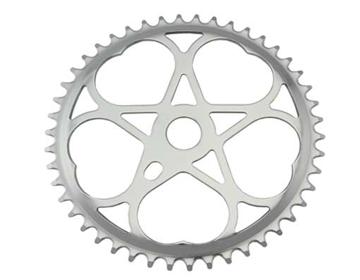 Lowrider Chainring 46t 1/2 X 1/8 Chrome.