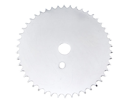 Bike Steel Sprocket Js-67 1/2 X 1/8 46t Chrome. 137927
