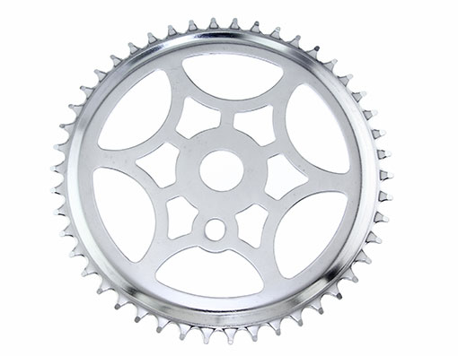 Bike Steel Sprocket SS-315 1/2 X 1/8 46t Chrome. 137931