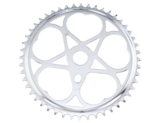 Bike Steel Sprocket Js-46 1/2 X 3/32 48t Chrome. 137946