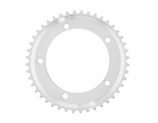 Alloy Chainring 1/2 x 1/8 44t White.