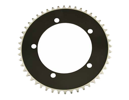 Alloy Chainring 1/2 x 1/8 48t Black.